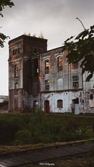 Abandoned paper factory (bdg-photography) Tags: abandoned old building architecture mill paper factory factories mills left alone sunset