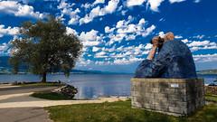 Regard sur ... (Jean-Luc Chassot - Cugy(FR)) Tags: yverdonlesbains cantondevaud suisse regard lac groupenuagesetciel lacdeneuchâtel