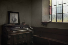 The Patriot (andre govia.) Tags: derelict chapel abandoned andregovia decay decayed down decaying decayedbuildings creepy closed church chaple urbex urbanexploration organ piano