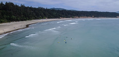 practice makes perfect (amy.kittelson) Tags: yachats oregon surf ocean mountain scape banner