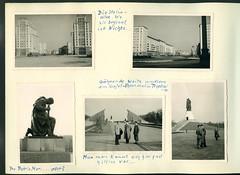AlbumG261 Album G, Gesamtseite 42, 1950er (Hans-Michael Tappen) Tags: archivhansmichaeltappen albumg gesamtseite42 ostberlin berlinfahrt berlin april1957 architektur baustil sowjetsektor