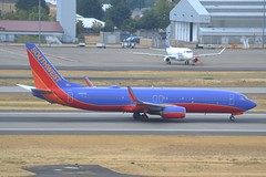 N8615E (LAXSPOTTER97) Tags: southwest airlines boeing 737 737800 n8615e cn 36933 ln 4613 airport airplane aviation kpdx