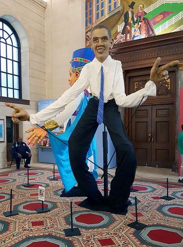 Barack Obama puppet