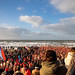New Year's swim in Bloemendaal aan Zee