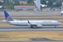N38479 (LAXSPOTTER97) Tags: united airlines boeing 737 n38479 737900er cn 62817 ln 6212 airport airplane aviation kpdx