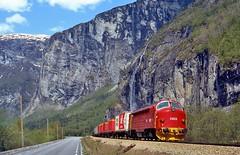 Flatmark, NSB Di.3.623 (Maarten van der Velden) Tags: noorwegen norway norwegen norvège norge noruega flatmark nsb nsbdi3623 nsbdi3