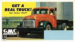 1952 GMC Heavy-Duty Truck (aldenjewell) Tags: 1952 gmc heavy duty truck ink blotter