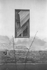 (Attila Pasek (Albums!)) Tags: shutter analogue ruin expired window battonya hp4 ilford rangefinder bw blackandwhite camera 35mm film argusc3