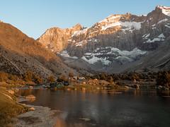 Закат (Valentin_Efimov) Tags: landscape landscapes outdoor outdoors mountain mountains mountainside lake water sunset silence mirror reflection evening