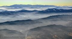 Smoking Blue Ridge Mtns 2013 (Greg Reed 54) Tags: blueridgemountains appalachianmountains haze fog mist flight aviation aerial foggy