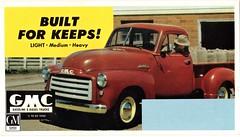 1952 GMC Light-Duty Pickup (aldenjewell) Tags: 1952 gmc light duty pickup ink blotter truck