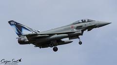 Italian Air Force Eurofighter Typhoon S (Caspar Smit) Tags: eurofighter typhoon 3634 nato tigermeet tiger aircraft fighter jet aviation airforce airplane nikon d7000 montdemarsan lfbm mm7312