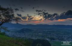 Sonnenuntergang / Sunset - Spalla / Götzis (matt.barta) Tags: rheintal rhinevalley valley rhine rhein alpen alps berge mountains sunset sonnenuntergang august nikon vorarlberg austria eu europe