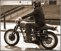 Triumph Hot Rod 650 (davekpcv) Tags: triumph hotrod motorcycle