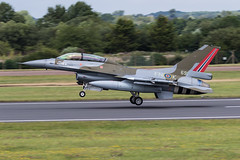 RAF Fairford RIAT 2019 : Royal Norwegian air force F-16BM  691 (Hermen Goud Photography) Tags: 691f16bmflo airshow f16fightingfalcon militair noorwegen norsk norway riat2019 specialcolorscheme aircraft aviation specialmarkings