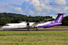 G-JECP_23 (GH@BHD) Tags: gjecp bombardier dhc dhc8 dhc8402q dasheight flybe be bee dehavilland turboprop propliner aircraft aviation airliner bhd egac belfastcityairport