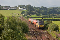 Milking It (Richie B.) Tags: 6s36 currock carlisle cumbria colas rail general electric class 70 70812