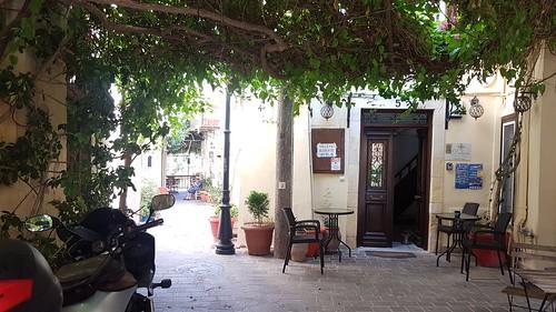 Entrance to Principessa house @ Chania, Crete