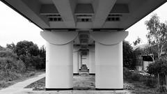 - untitled - (-wendenlook-) Tags: sw bw monochrome architektur architecture abstrakt abstract brücke bridge