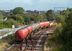 Gas Tanks (Richie B.) Tags: 6s36 currock carlisle cumbria colas rail general electric class 70 70812