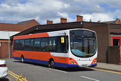 759. AN09 BUS: Centrebus, Leicester (chucklebuster) Tags: an09bus centrebus kimes grantham vdl sb200 wright pulsar