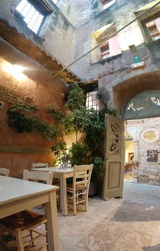 Mesostrato restaurant @ Chania, Crete