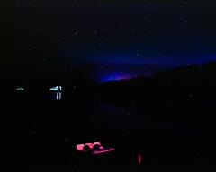 4th of July in the Catskills (GPhace) Tags: 120mm 2019 4thofjuly catskills ektar100 filmphotography kodak longexposure mamiya mediumformat rb67pros reflection shootfilm summer upstatenewyork filmgrain lake manualfocus nightphotography stars tripod