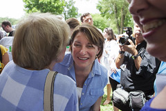 Amy Klobuchar (mfhiatt) Tags: amyklobuchar politics democrat caucus desmoines iowa photojournalism documentary 2020 president img01290719c