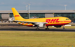 EAT_DHL_DAEAL_A300F_BRU_JUL2019 (Yannick VP) Tags: civil commercial cargo freight transport aircraft airplane aeroplane jet jetliner airliner dhk dhl express eat europeanairtransport daeal brussels airport bru ebbr belgium be europe eu july 2019 departure takeoff runway rwy 25r aviation photography planespotting airplanespotting airbus a300 300600 r extendedrange a300f freighter