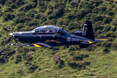 RAF Beechcraft Texan T6-C (Martyn Cartledge / www.aspphotography.net) Tags: t6c texan aerodrome aeroplane air aircraft airline airliner airplane airport aspphotography aviation beechcraft cartledge civilairline civilairliner flight fly flying flywinglets jet lfa7 machloop martyn military northwales plane raf runway transport wwwaspphotographynet wwwflywingletscom zm330 uk asp photography