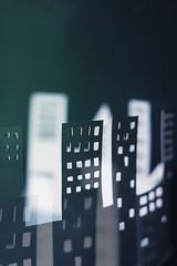 city (CatMacBride) Tags: paper papercraft city