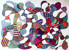 (Imara U.) Tags: caneta colorful colors color colorido cores cor curves creation creative curvas circles lines linescurves abstract pattern patterns estampa estampas design pen art arte artista artist