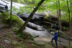 22 scampering around the falls (anne.kane) Tags: 40acrerock southcarolina wildflowers waterfalls naatureconservancy