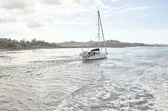 jlvill 217  Rio Guadiana buscando el Atlantico (jlvill) Tags: rio guadiana agua velero navegacion nautica barco yate 1001nightsthenew