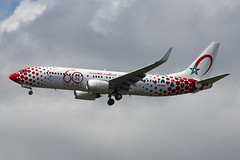 Royal Air Maroc 737-85P (nickchalloner) Tags: cnrgv boeing 73785p 737800 737 b737 85p 800 737ng next generation gen royal air maroc ram at london heathrow airport lhr egll marocco 60 60th anniversary