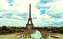 Tour Eiffel (Timmie10) Tags: france paris tour eiffel frankrijk parijs eiffeltoren