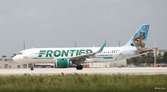 Airbus A320neo (N301FR) Frontier Airlines (Mountvic Holsteins) Tags: airbus a320neo n301fr frontier airlines mia miami international airport