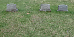 Ed Gein's Gravesite, Plainfield Cemetery, Plainfield WI 4/28/1019 6:30PM (Craig Walkowicz) Tags: edgein grave killer murderer gravedigger cannibal necrophilia ghoul tombstone headstone cemetery graveyard serialkiller burialplace restingplace ccw