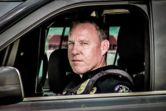 Officer Portrait (ViewFromTheStreet) Tags: allrightsreserved berks berkscounty blick blickcalle blickcallevfts calle copyright2019 eagleeye pennave pennavenue pennsylvania photography policeman readingpa stphotographia streetphotography viewfromthestreet westreading westreadingpa amazing candid car classic cop dangerousjob difficultjob eyecontact eyes honor oath officer police policeofficer portrait protect protection reading serious serve steely stern street streetportrait uniform vehicle vftsviewfromthestreet ©blickcallevfts ©copyright2019blickcalle