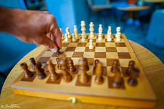 Chess board - ben heine photography (Ben Heine) Tags: background battle bishop black blur board business challenge check checkmate chess chessboard competition conflict corporate decision defeat fight fly game group intelligence isolated king knight leadership leisure move object pawn pawns pieces plan play power queen risk rook solution sport strategic strategy success team thinking victory war white win wooden jeu déchec ben heine photography