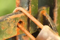 Closed .... No Entry (acwills2014) Tags: macromondays closed rusty crusty textures macro