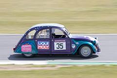 Blueberry Tarts / Citroen 2CV 24hr Snetterton 2019 (mattbeee) Tags: 24hours 24hr 2cv 35 otherkeywords aircooled barc car circuit citroen endurance motorsport racing snetterton