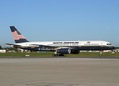 North American Airlines                                           Boeing 757                                 N750NA (Flame1958) Tags: northamerican northamericanairlines northamericanb757 boeing757 boeing b757 757 n750na dub eidw dublinairport 310804 0804 2004 7872