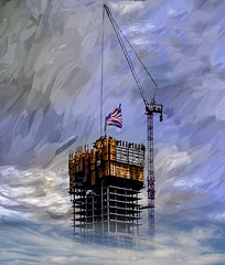 Under Construction (Rusty Russ) Tags: tall building crane cloud high boston colorful day digital flickr country bright happy colour scenic america world sunset sky red nature blue white tree green art light sun park landscape summer old new photoshop google bing yahoo stumbleupon getty national geographic creative composite manipulation hue pinterest blog twitter comons wiki pixel artistic topaz filter on1 sunshine image reddit tinder russ seidel facebook timber unique unusual fascinating
