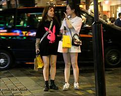 `2829 (roll the dice) Tags: london westminster gay couple redlight w1 soho westend lost confused nightime lights people playboy fashion asian chinese korean pretty sexy girls streetphotography sad mad funny happy smile reaction legs urban unaware unknown england uk classic art canon tourism tourists portrait strangers candid busy rush crowd bags offwhite selfidges advertising eyes boots makeup taxi reflection fun