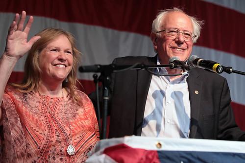 Jane & Bernie Sanders by Gage Skidmore, on Flickr