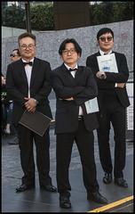 Korean singers waiting to go on stage-11= (Sheba_Also 46000 + photos-Videos) Tags: korean singers waiting go stage brisbane king george square