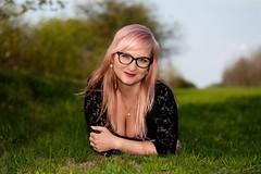 Dasia (Oto Burger) Tags: portrait exterior girl czechgirl blonde summer