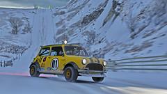 rally mini 9 (Keischa-Assili) Tags: austin mini cooper bmw rally car snow forza horizon 4 4k uhd wallpaper screenshot photo