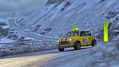 rally mini 6 (Keischa-Assili) Tags: austin mini cooper bmw rally car snow forza horizon 4 4k uhd wallpaper screenshot photo